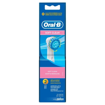 Oral-B Ersatzbürsten Soft Clean 2er pack