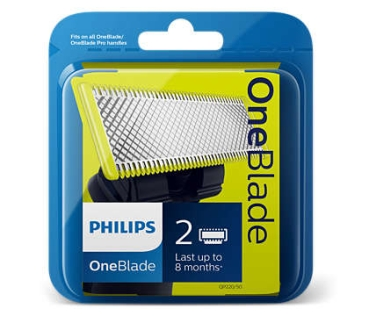 Philips One Blade Ersatzklingen 2er pack